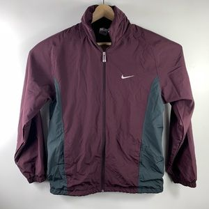 Nike Jackets & Coats - Vgt 90s Nike Windbreaker Retractable Hoodie
